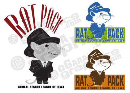 Logo Design - Animal Rescue League of Iowa